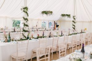 Wedding Marquee Bedfordshire - Alice and Karl - Countryside Marquees