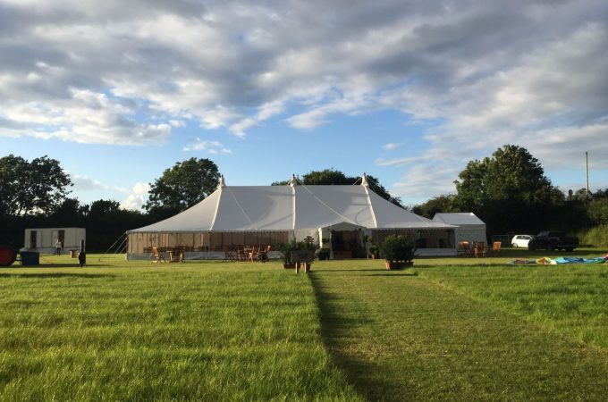 Wedding Marquee Exterior