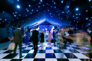 60th Party Marquee